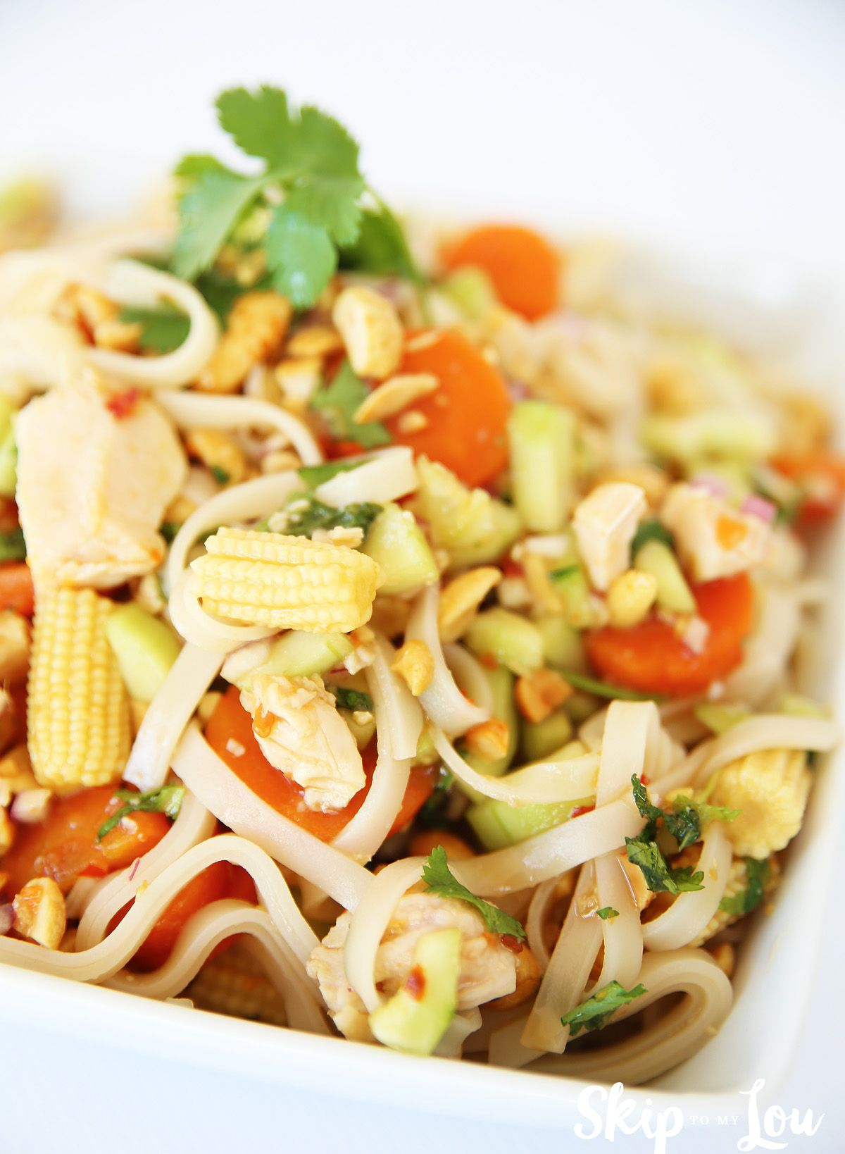 Malaysian Tangy Rice Noodle Salad recipe ad