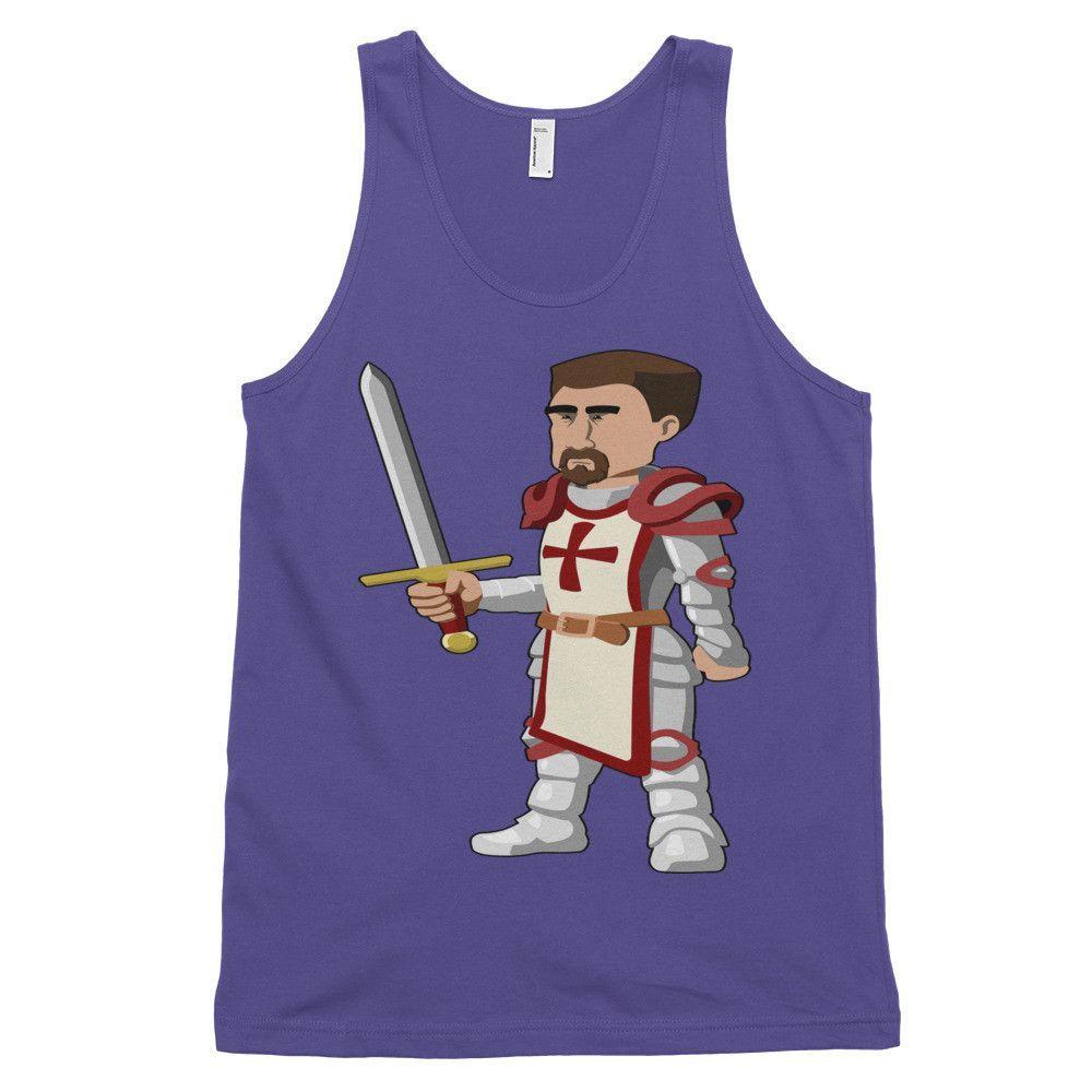 Crusader For Christ Tank Top