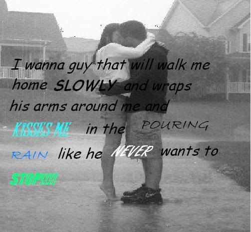 Image Result For Kissing In The Rain Quotes Great Sayings Rain