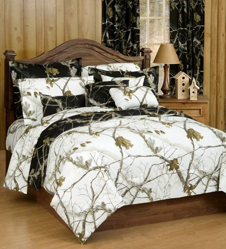 delectably yours realtree ap snow ap black camo bedding