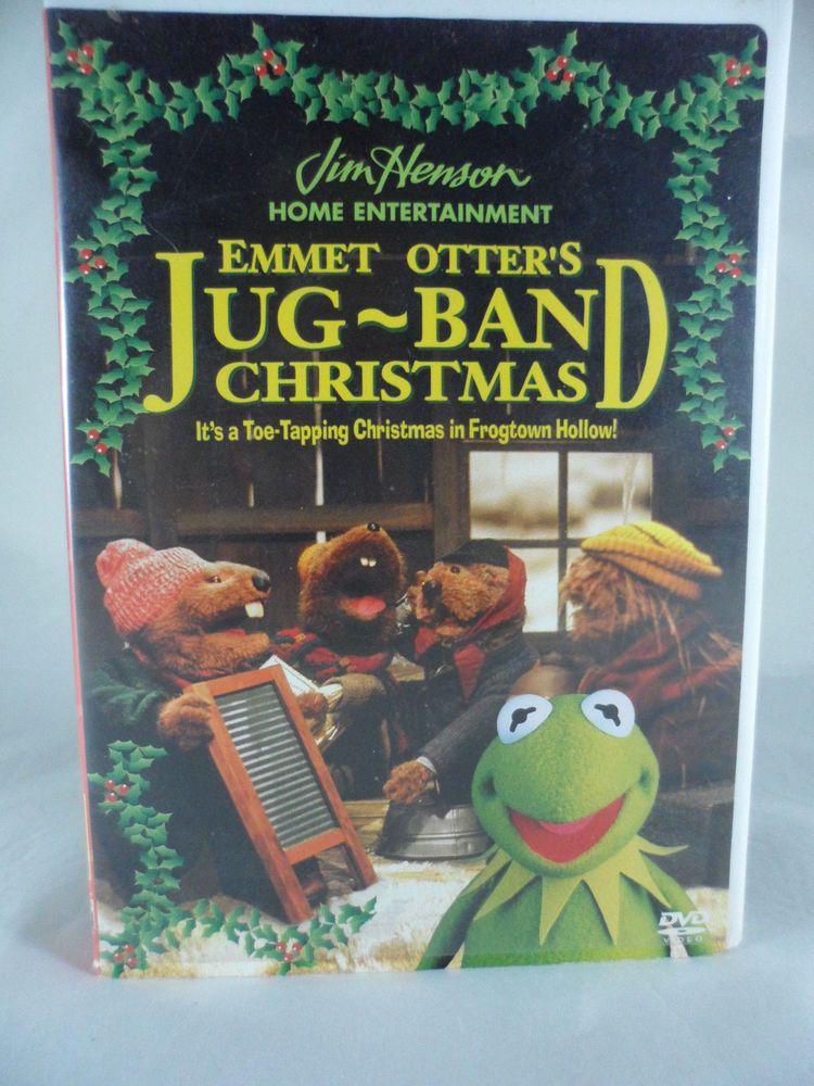 Emmet Otters Jug-Band Christmas DVD 2001 Jim Henson Muppets Kermit ...
