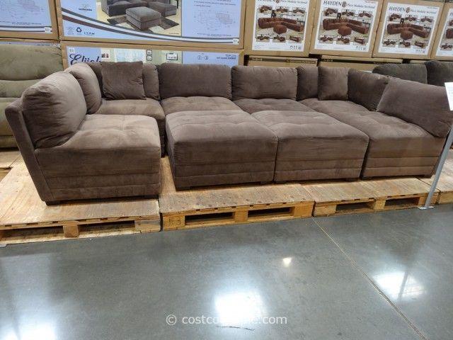Cool 8 Piece Modular Sectional Sofa Beautiful 53 In Modern