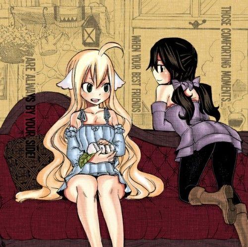 - Fairy Tail Zero - Mavis And Zera