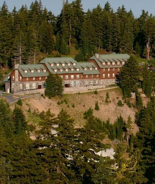 Crater Lake National Park Or Lodge Exterior