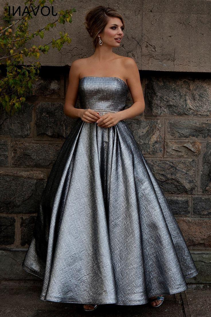 Jovani tea length dress fun metallic tea length prom dress