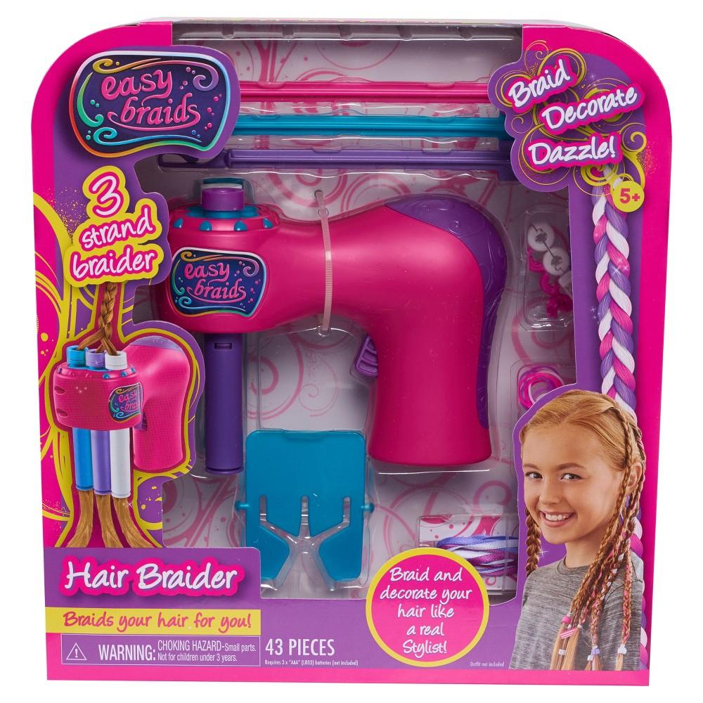 Easy braid hair braider toy beauty playsets braided