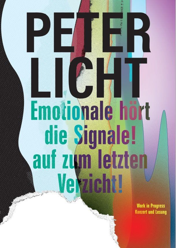 Peter Licht liest im Schauspielhaus… Lesen