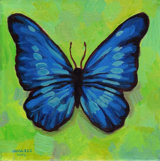 Acrylic Paintings Of Butterflies | www.pixshark.com ...