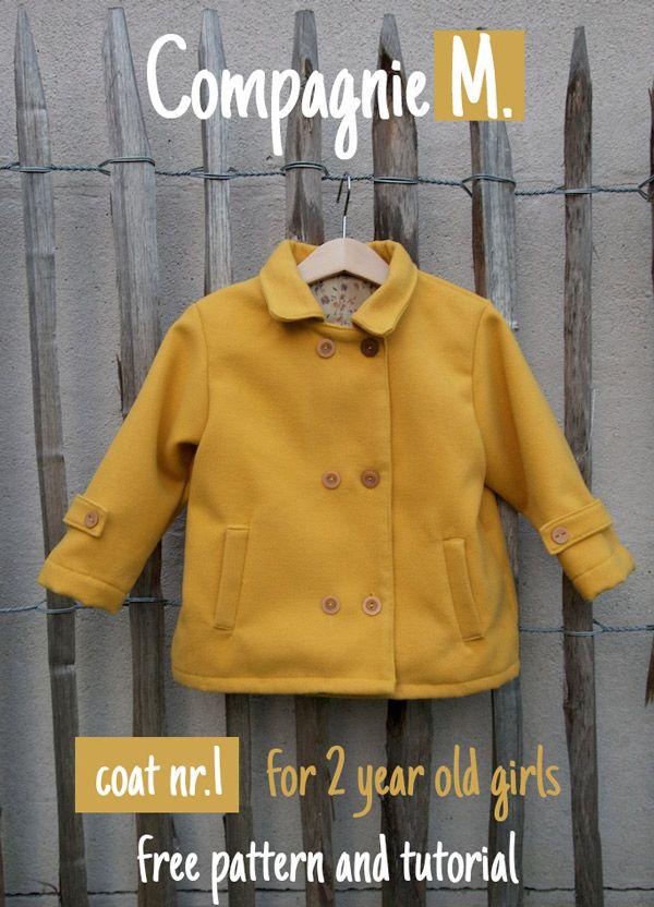 patron manteau bebe gratuit