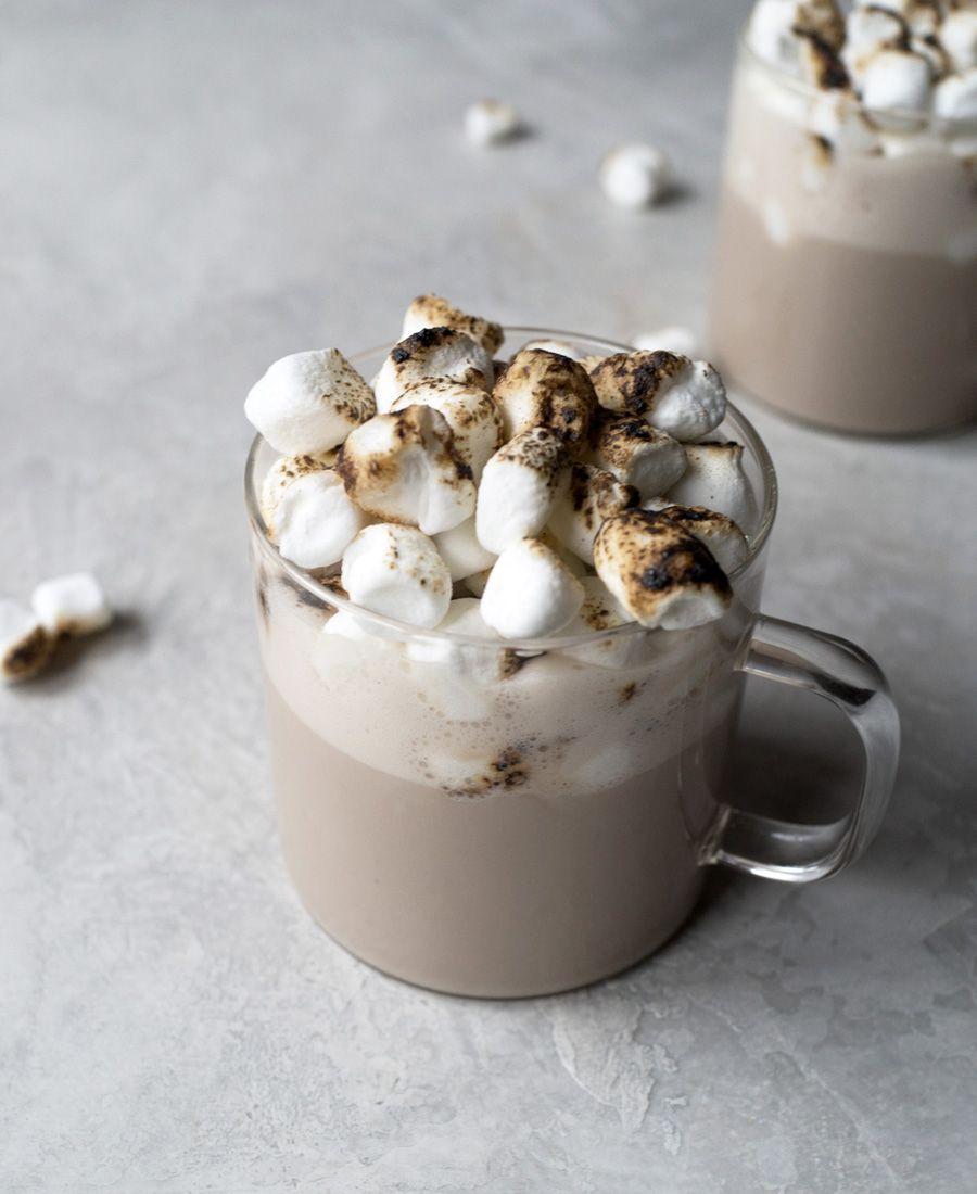 Hojicha White Hot Chocolate