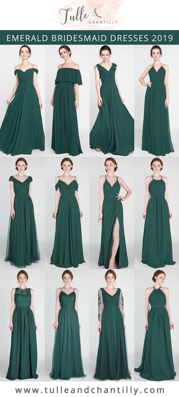 Long \u0026 Short Bridesmaid Dresses: $80