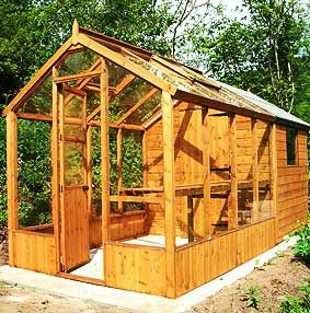 Greenhouse Sheds Sheffield Timber Buildings Garden 400 x 300