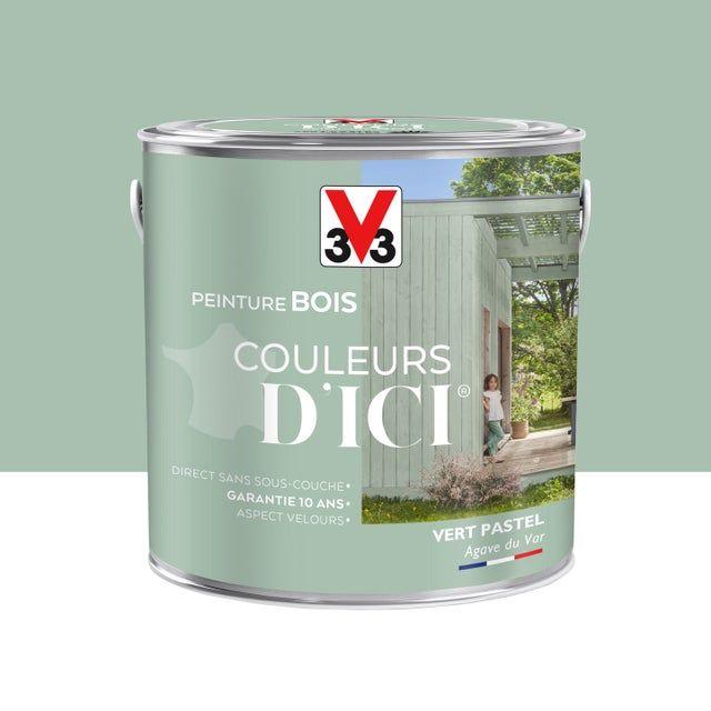 Peinture Bois Exterieur Couleurs D Ici V33 Vert Pastel Velours 2 L In 2020