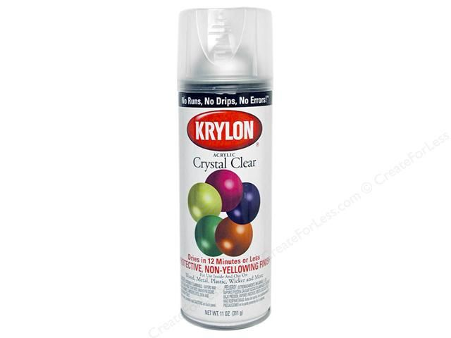 Krylon Crystal Clear Gloss - How to Care for Costume Jewelry