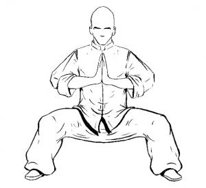 Ma Bu o posición del jinete