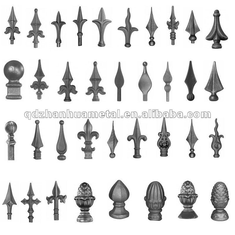 Source Outdoor Fence Spear Points Wrought Iron On M Alibaba Com