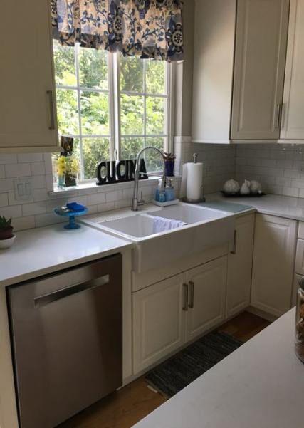 kitchen window sill tiles 41 ideas kitchen kitchen window sill kitchen window kitchen on kitchen cabinets around window id=66431