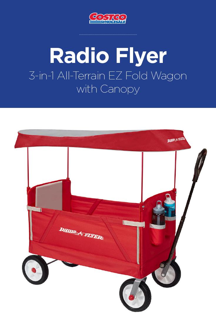 Ez Fold Wagon With Canopy