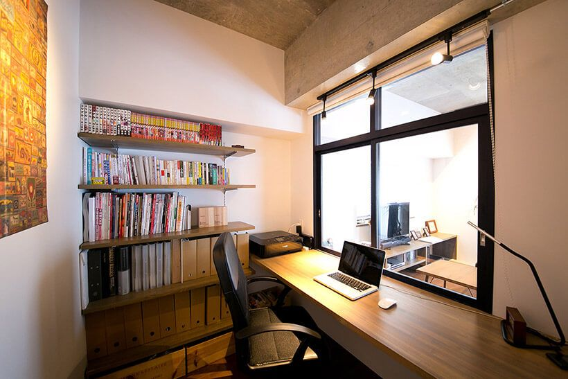 技あり間取り アイデア次第で 書斎 ワークスペース は持てる 家具 インテンリアも参考になるリノベ実例11選 リノベる ジャーナル 間取り アイデア 自宅で インテリア
