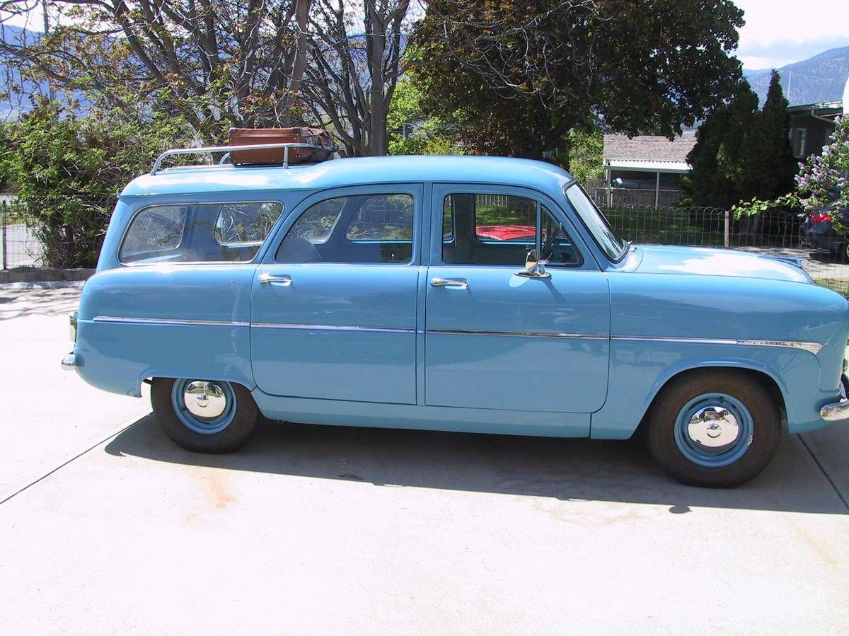 1956 Ford Consul Mk I Estate Wagon 1 Of 3 In The World Classic