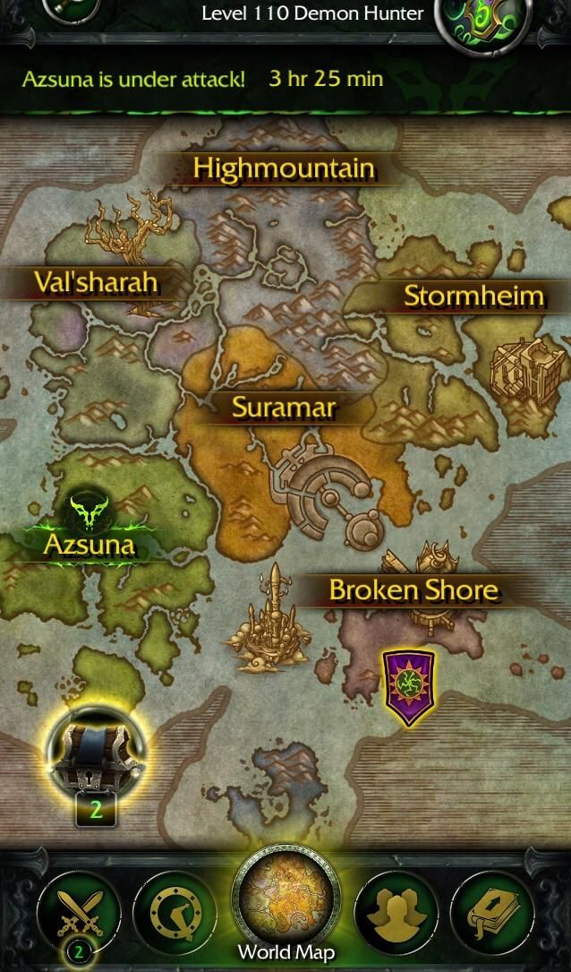 Legion App keeping you up to date on invasions while youu0027re at work - new osrs world map in game