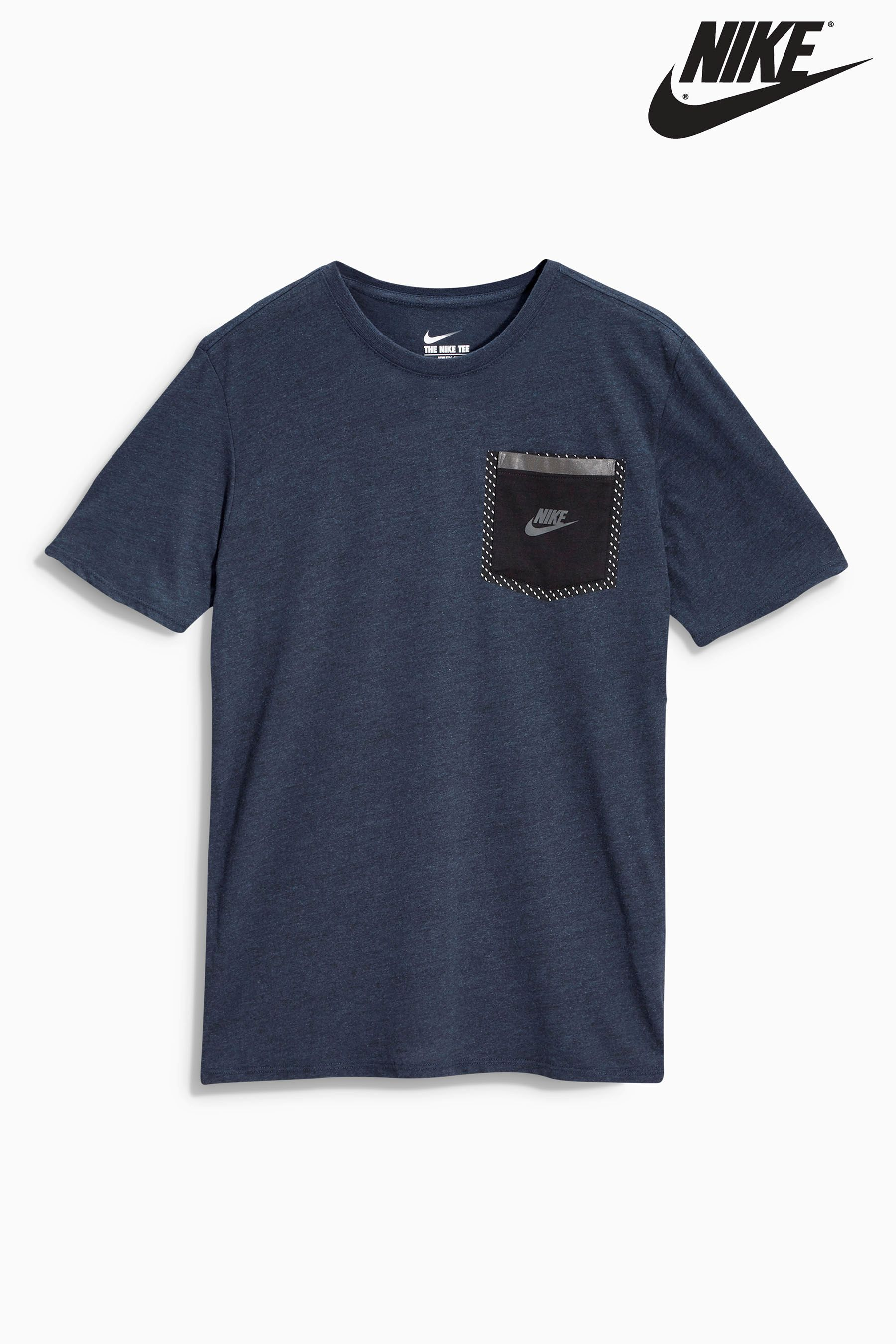 Buy Navy Nike Pocket Tee from the Next UK online shop