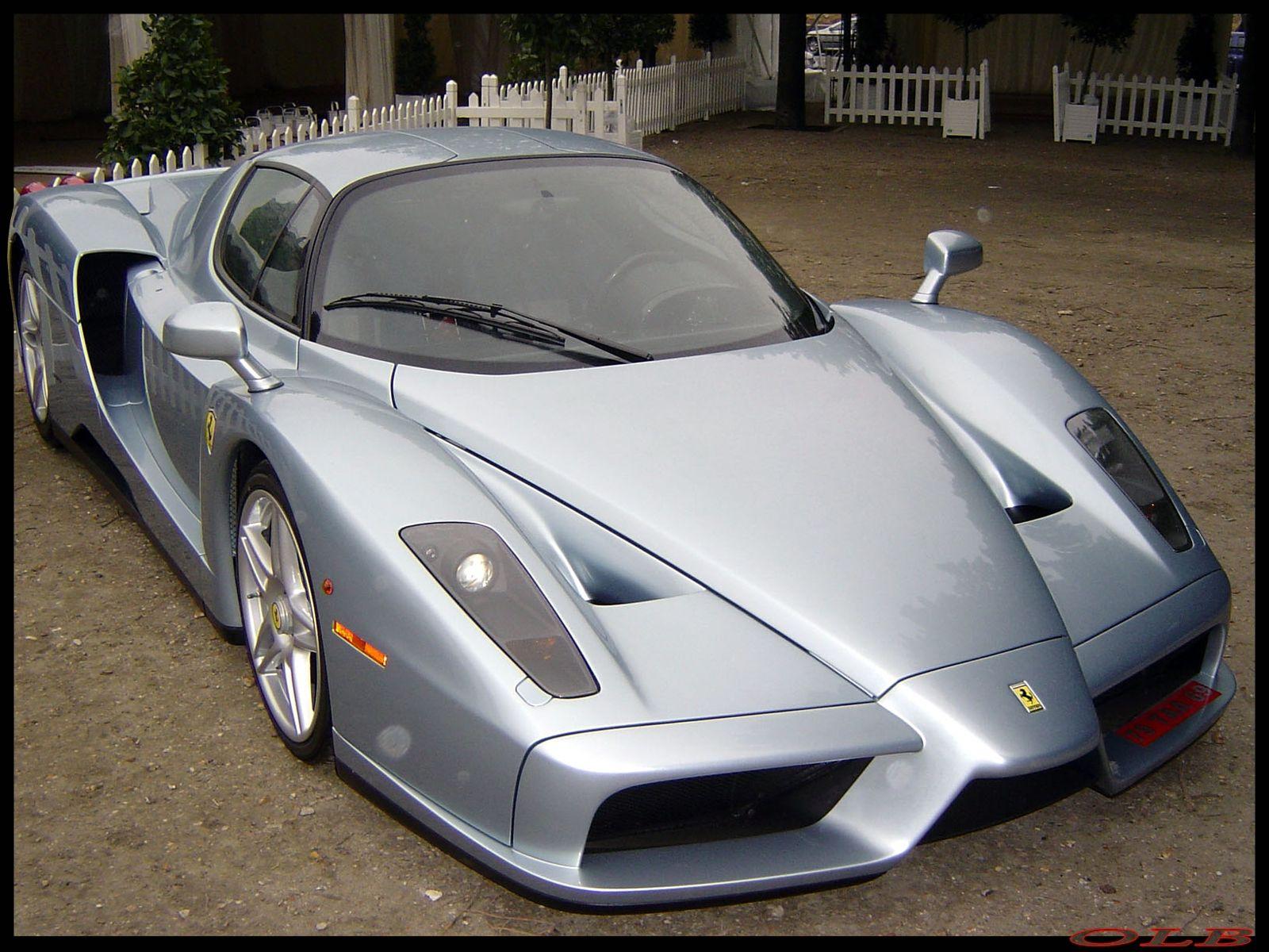 Ferrari Enzo Silver With Images Ferrari Enzo Ferrari Car