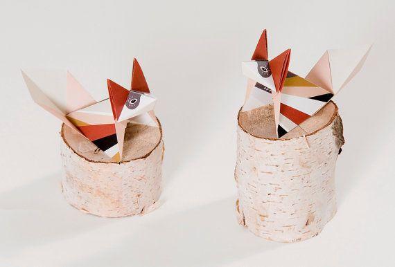birdtoldme - gato - origami ilustrado