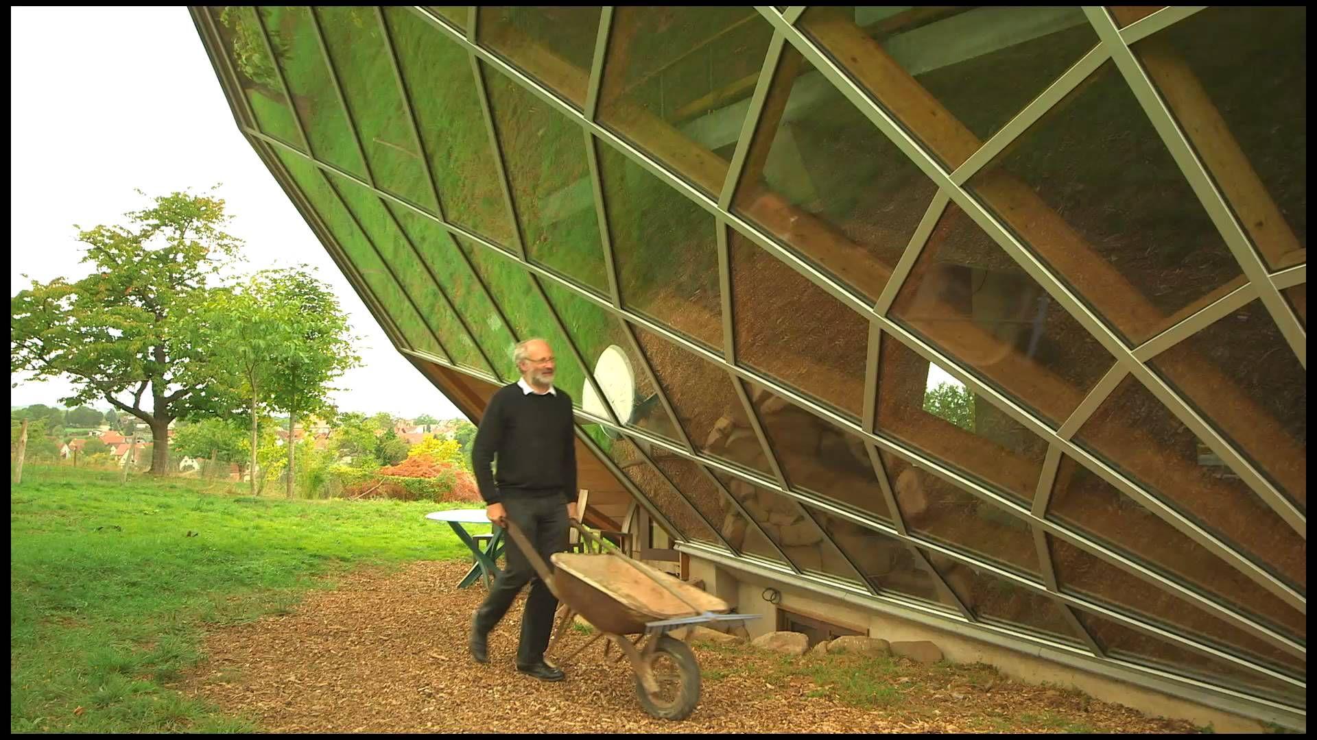Maison solaire - Alsace, France