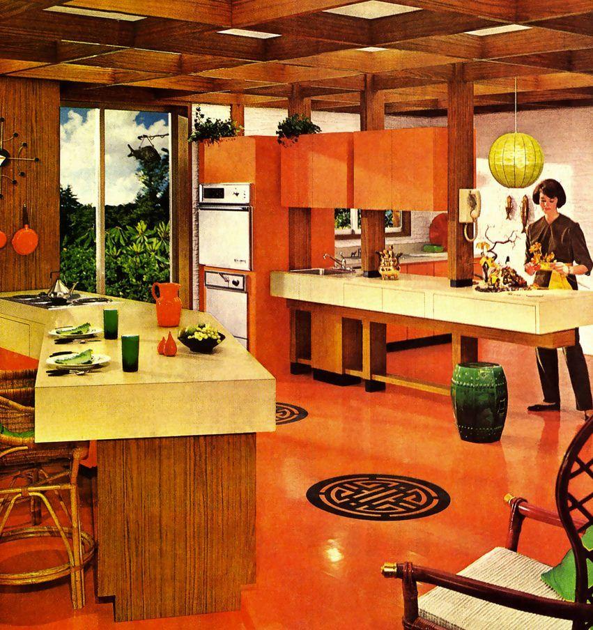 Pin by PerpetualLight on Espacios | Vintage interior ...