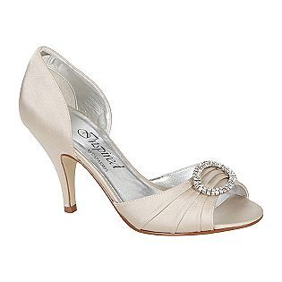 """Inspired by Caparros -Women's Shoes Dazzle Pump Peep Toe - Champagne 3"""" Stiletto heel $39.99"""