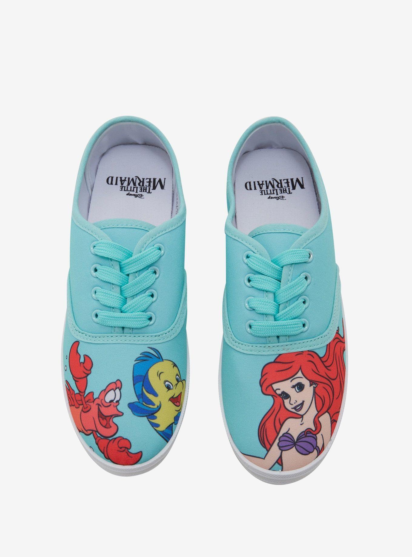 5d8d0ec05b Disney The Little Mermaid Ariel Lace-Up Sneakers in 2019