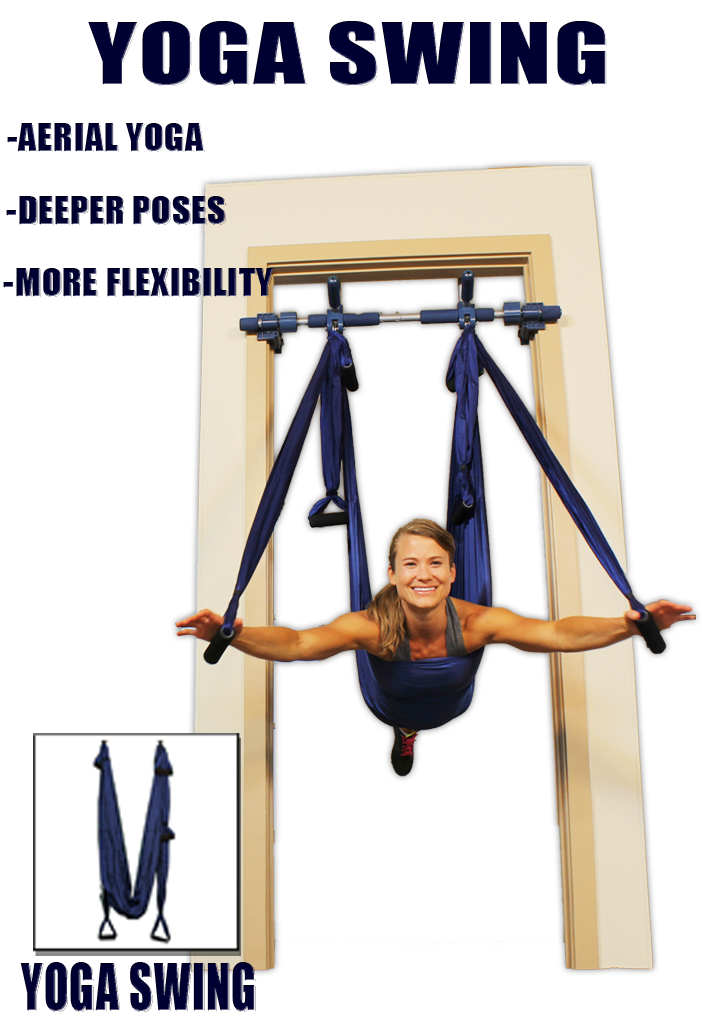 Have You Heard Of Inverted Yoga Try Our Aerial Yoga Swing At Home Yoga Aerial Yoga Basic Yoga Poses Yoga Swing