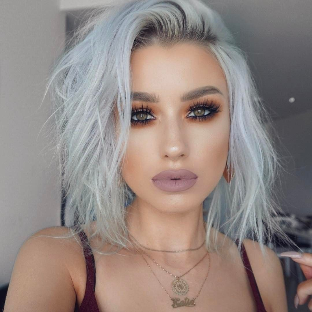 Image result for katie mulcahy Rock hairstyles, Silver