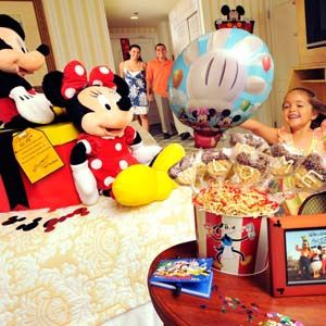 Mickey S Grand Welcome In Room Celebration