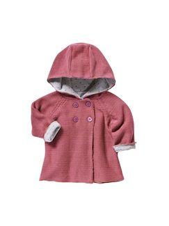 Baby Girl's Hooded Cardigan  - vertbaudet enfant