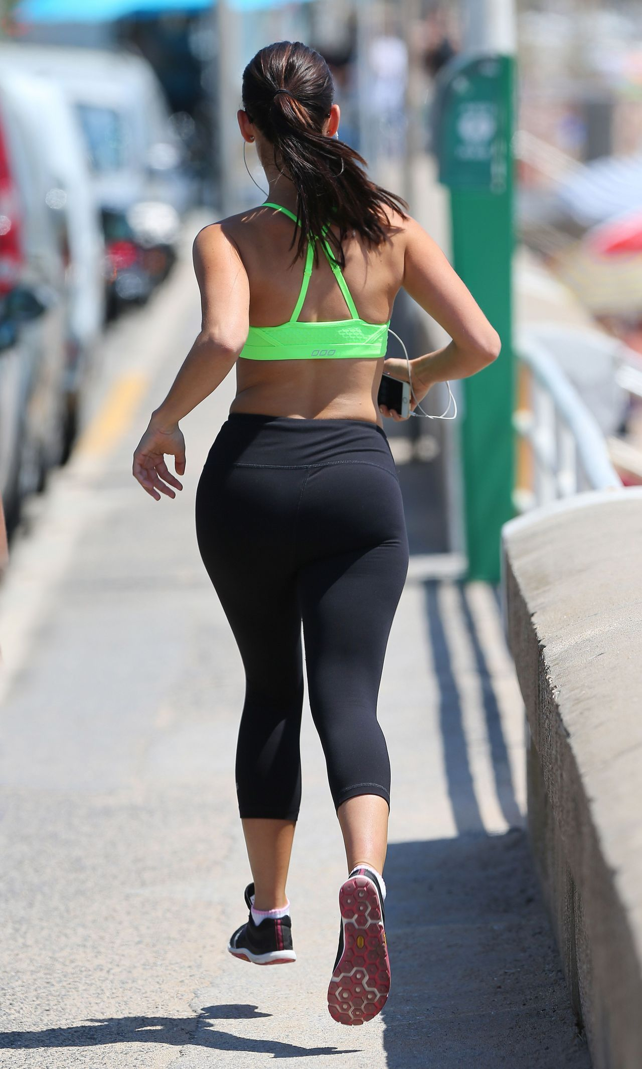 Jessica Lowndes Booty In Leggings Out For A