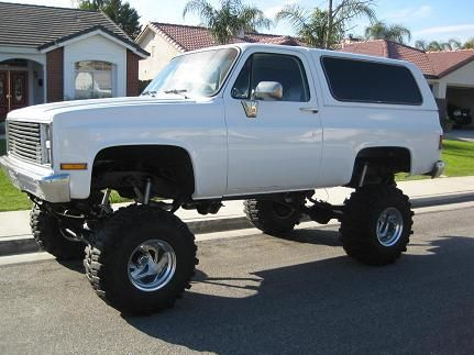 Lifted K5 Blazer Big Trucks Chevy Trucks Trucks 4x4