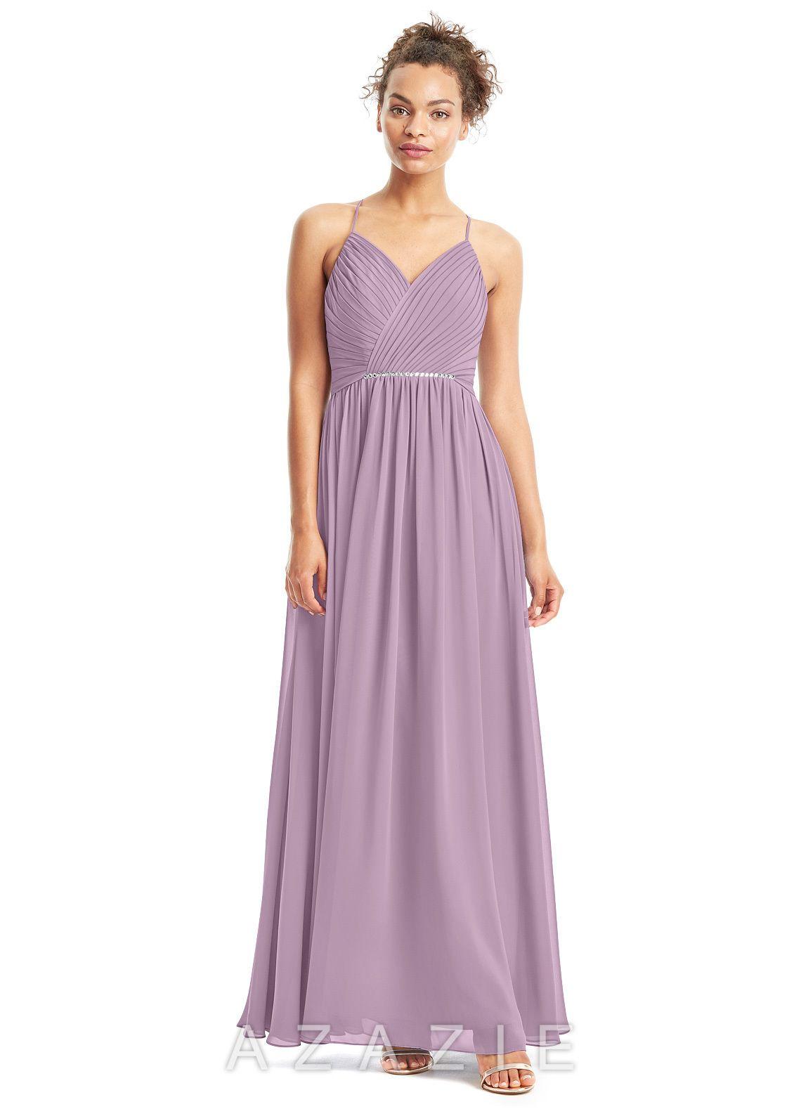 6a7f5aebaaf Azazie Donna Bridesmaid Dress - Wisteria