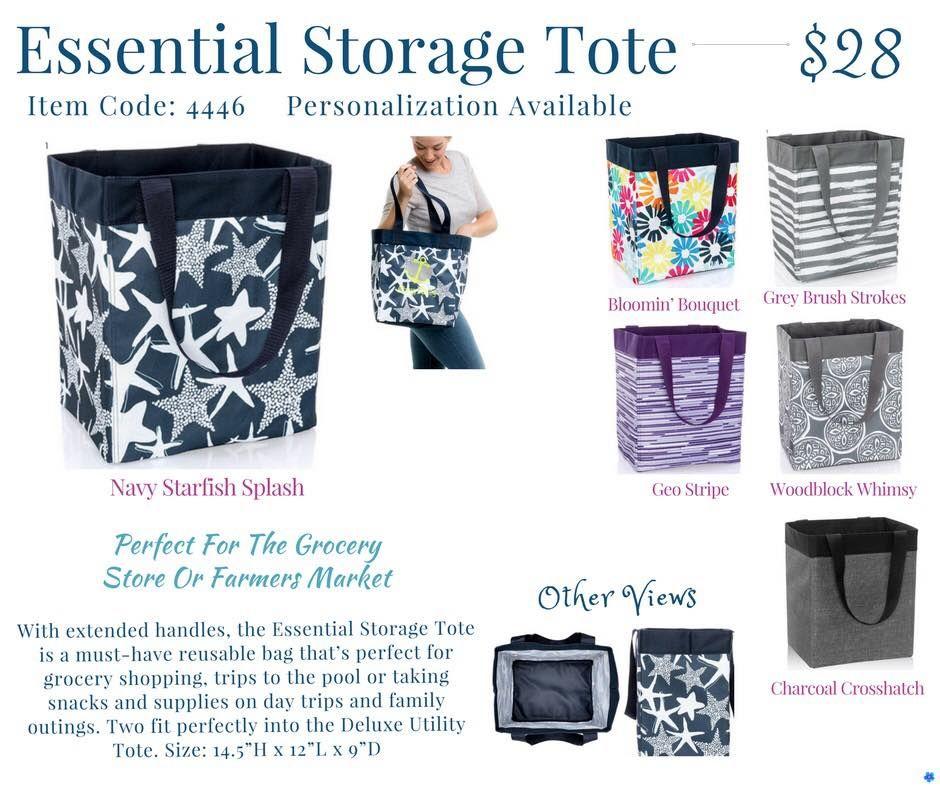 Thirty One Essential Storage Tote Spring Summer 2018 Tote