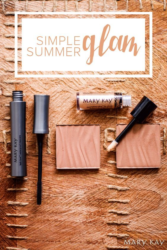 022c25c0bb8 With makeup staples like Lash Love® Waterproof Mascara, Mary Kay® Bronzing  Powder, and NouriShine Plus® Lip Gloss, you get the best of both worlds!