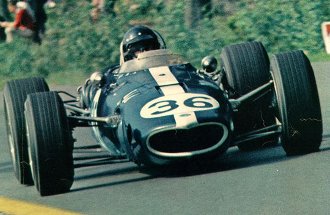 Dan Gurney in a Eagle All American Racers F1  car, which only won one race which was the 1967 Belgian Grand Prix.