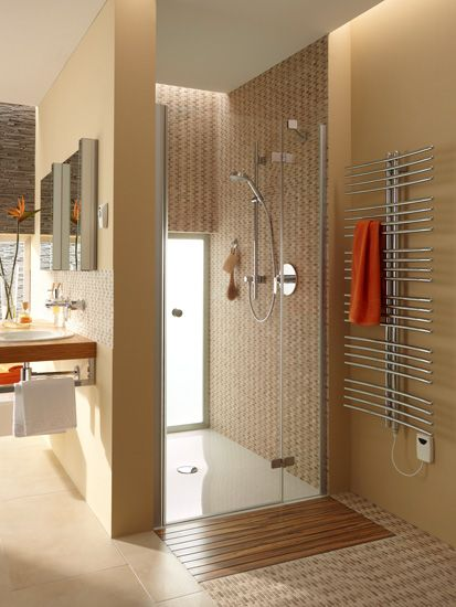 Wooden Shower Grate Drains By Aco Small Bathroom Bathroom Shower Design Bathroom Design Small