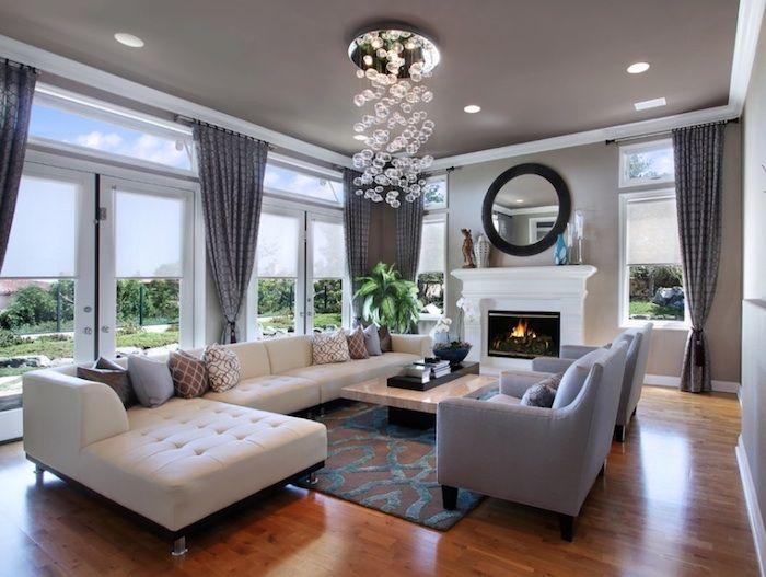 ▷ 1001 + Ideen für moderne und stilvolle Deko für Wohnzimmer Home