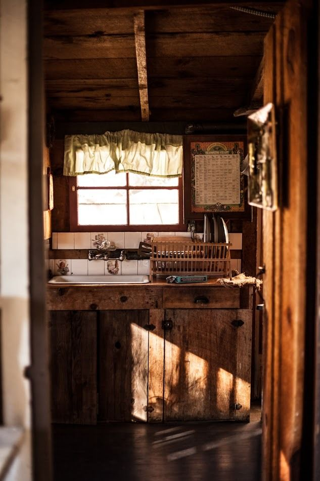 rustic cabin kitchens. My Workshop Little Kitchen Nook - Perfect Area To Wash Off Brushes! Cabin FeverRustic Rustic Kitchens
