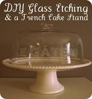 DIY home crafts DIY Glass Etching DIY home crafts