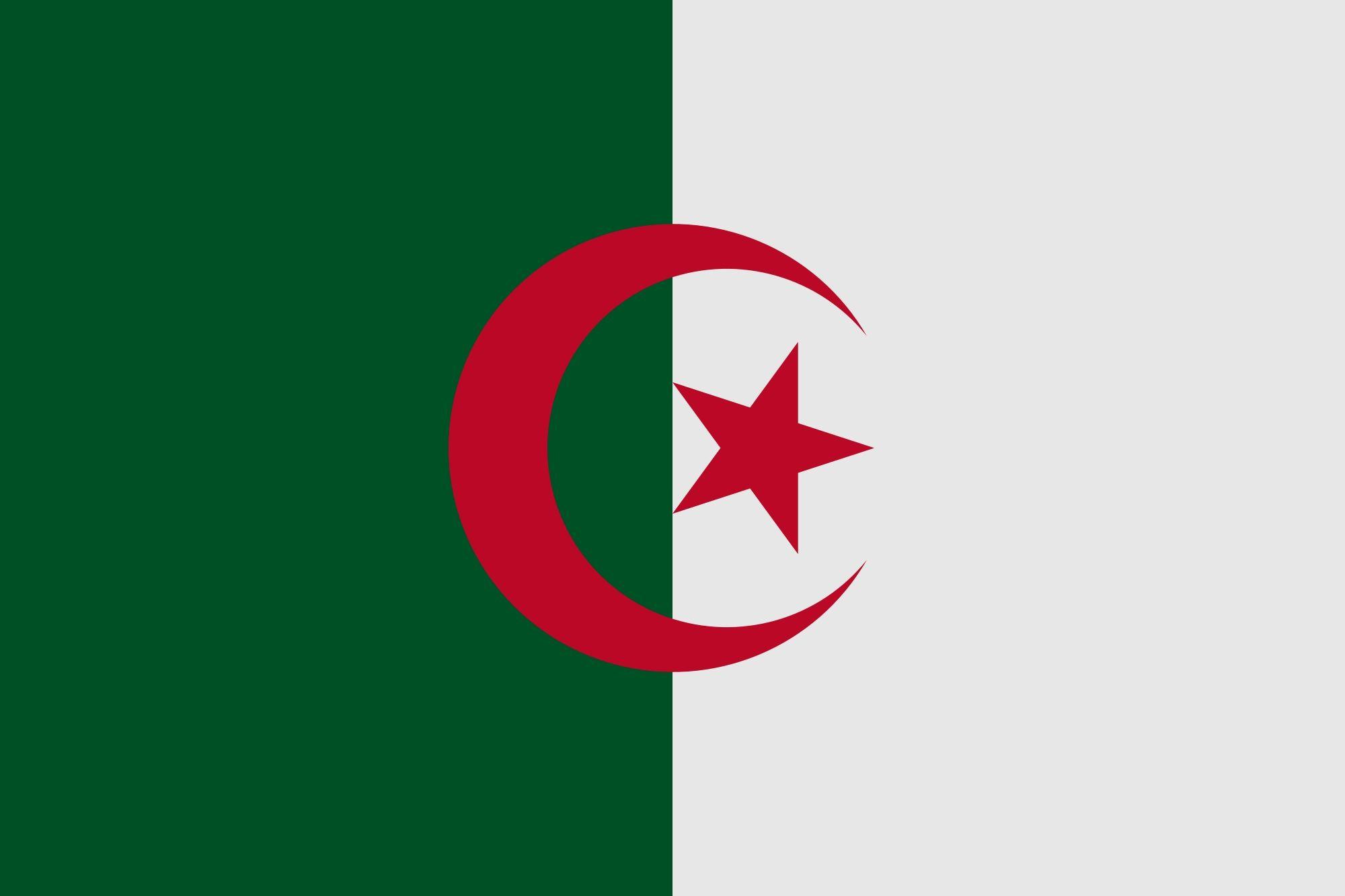 Algeria Flag Africa Flag Flag