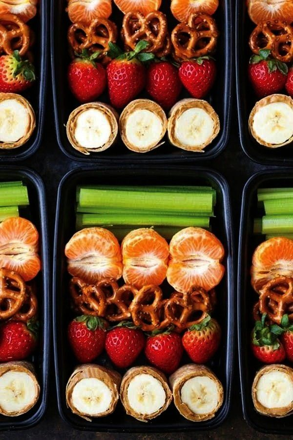 BANANA ROLL-UPS SNACK BOX. A Month of Meal-Prep Kids' Lunches for Every Day of September PEANUT B