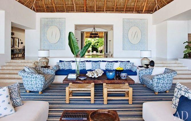 Décoration intérieure style mexicain | Maison Floride ...
