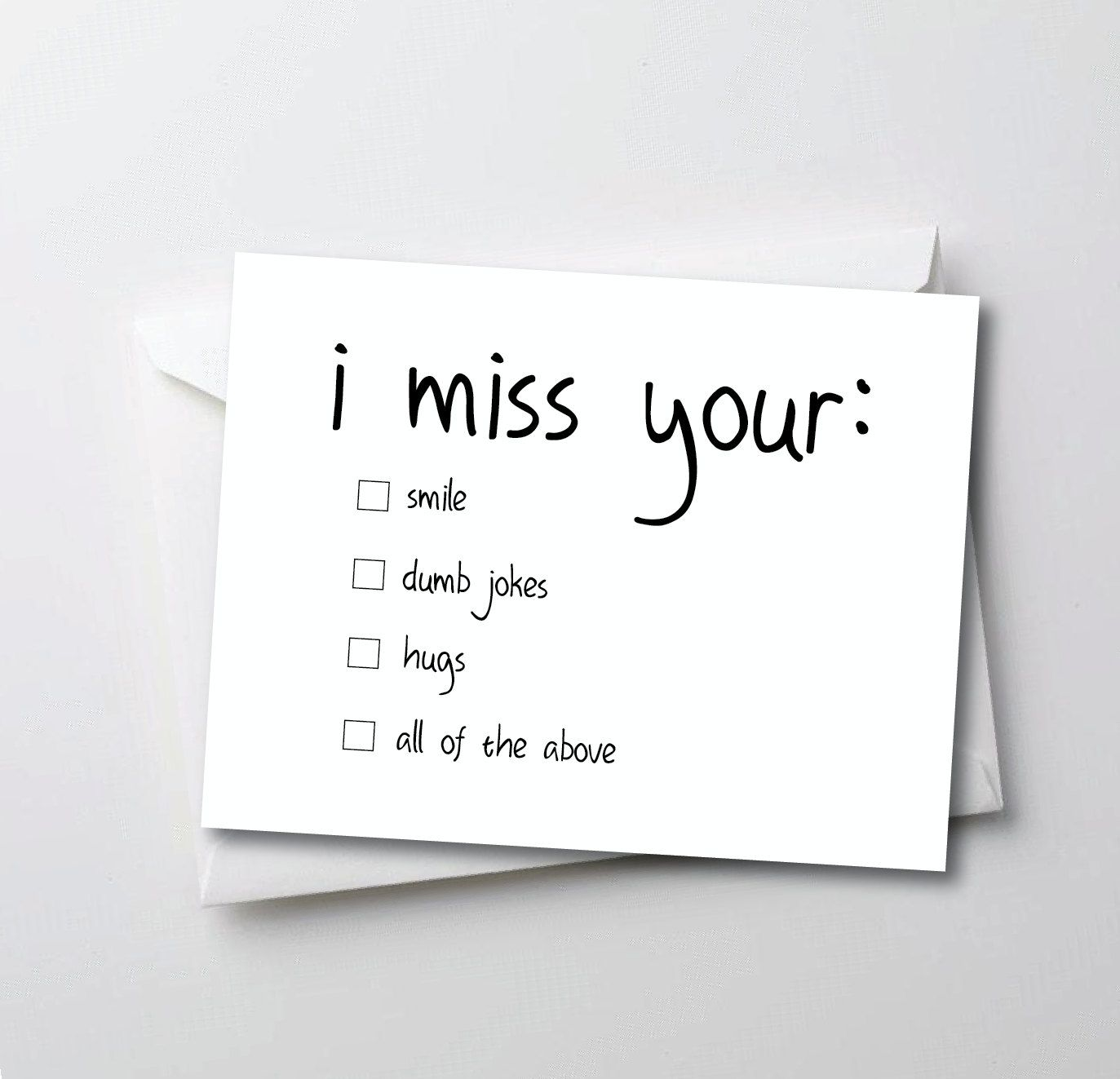 Small Of Miss You Funny